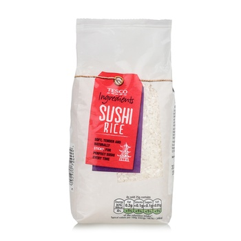 Tesco Ingredients Sushi Rice 500G
