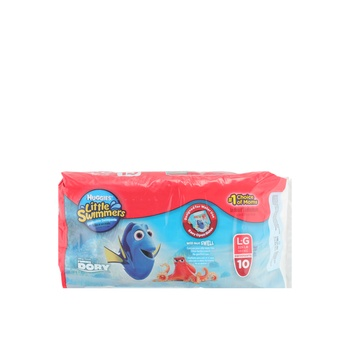 Huggies Little Swimmers Large ( 14 +kg ) 10pcs