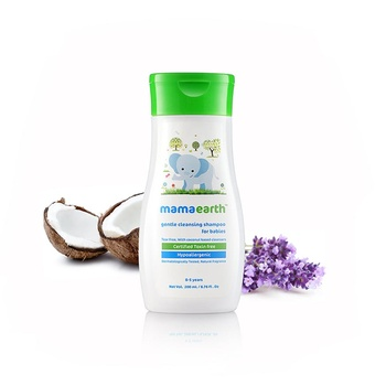 Mamaearth Gentle Cleansing Shampoo 200ml