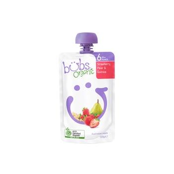Organic Bubs Strawberry Pear & Quinoa 120g