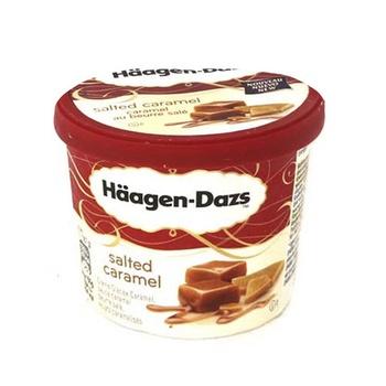 Haagen Dazs Salted Caramel Ice Cream 100ml