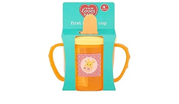 Tesco Loves Baby First Sipper Cup Blue