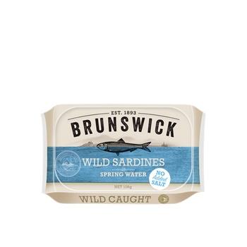 Brunswick Wild Sardines In Spring Water - No Added Salt 106g