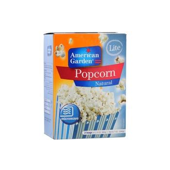 American Garden Microwave Popcorn Light (3X3Oz)