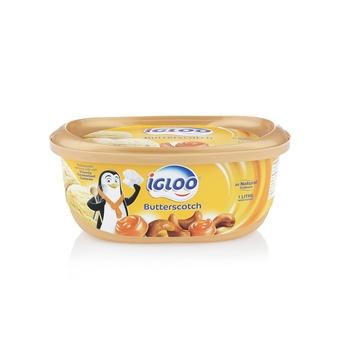 Igloo Butter Scotch Ice Cream 1ltr