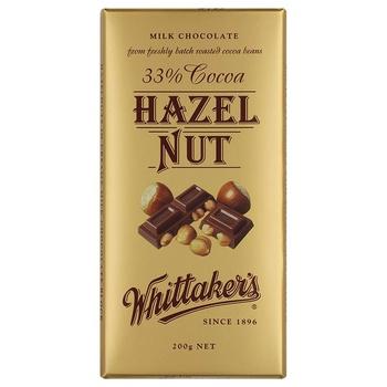 Whittakers Hazelnut Bar 200g