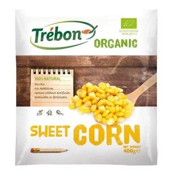Trebon Organic Sweet Corn 400g
