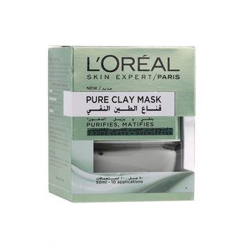Loreal Dermo Expertise Pure Clay Mask Eucalyptus 50 ml