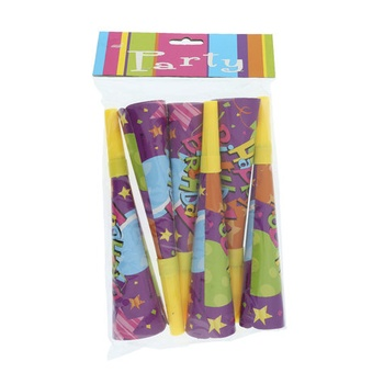 Birthday Party Horns - 6pcs pack