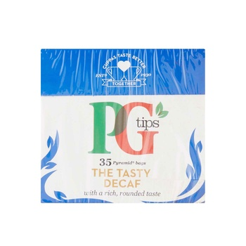 PG Tips the tasty decaf tea bags 35's