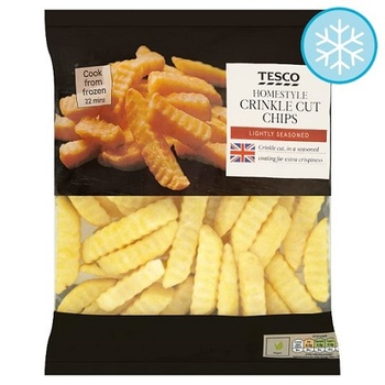 Tesco Homestyle Crinkle Cut Chips 950g