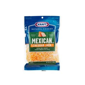 Kraft Mexican Cheddar Jack Cheese 226g