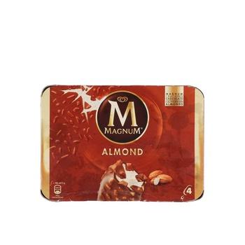 Walls Magnum Almond4X440ml