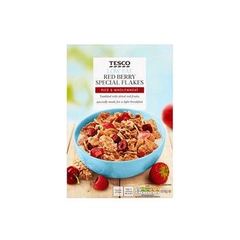 Tesco Special Flake & Fruit 375g