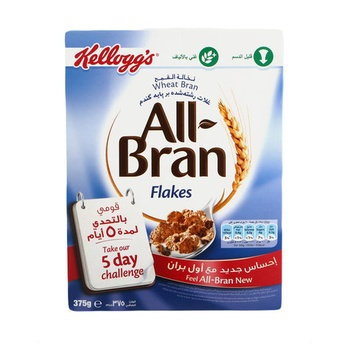 Kelloggs All Bran Flakes 375g