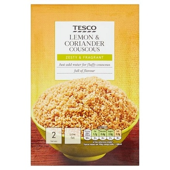 Tesco Cous Cous Coriander & Lemon 110g