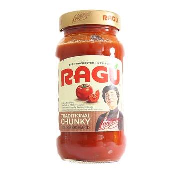 Ragu Bolognese Sauce Traditional Chunky 454g