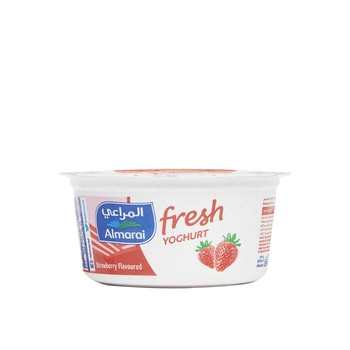 Almarai Set Yoghurt Strawberry 150G
