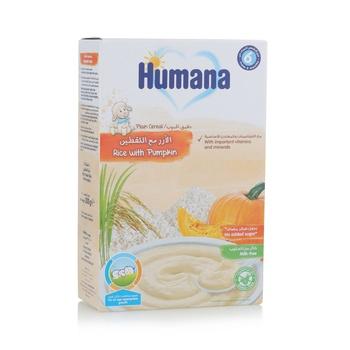 Humana Rice With Pumpkin Cerelas Plain