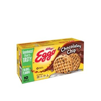 Eggo Waffles Chocolate Chip 12.3 Oz