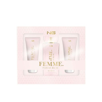 Next Generation Perfumes Femme L' Odeur Du NG 3 Piece Gift Set For Women