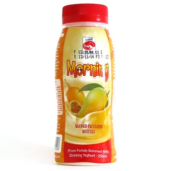 Al Ain Morning Fruit Drink Mango Passion Muesli 250 ml