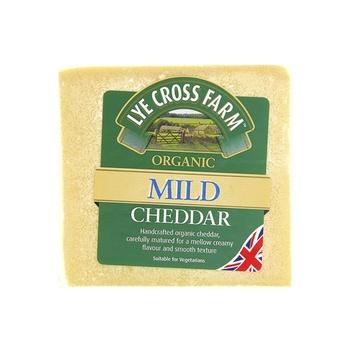 LXF Organic Mild Cheddar Cheese 245g