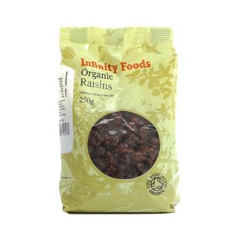 Infinity Foods Organic Raisins 250g