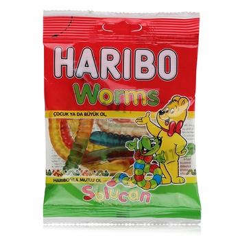 HariboWorms 80g (Halal)