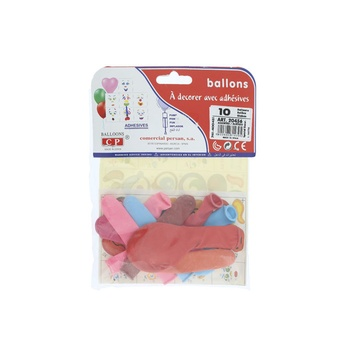 Balloon Glossy- 10pcs Pack