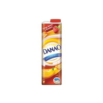 Danao orange, banana and strawberry juice milk 1l