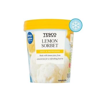 Tesco Lemon Sorbet 500ml
