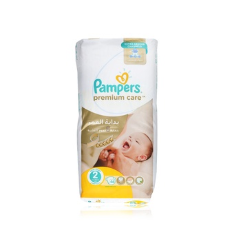 Pampers Premium Care Diapers  Size 2  Mini  3-6 kg  Value Pack  46 Count