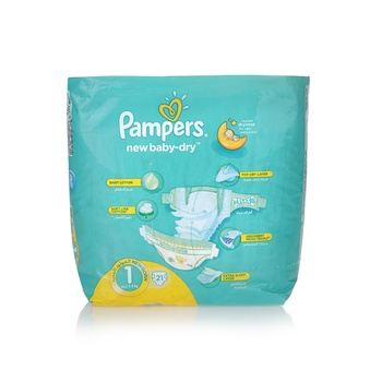 Pampers New Baby 1 New Born (2-5kg) 21pcs