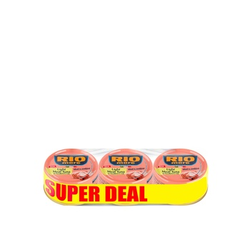 Rio Mare Light Meat Tuna Chuck In Sun Flower Oil 70g Pack Of 3