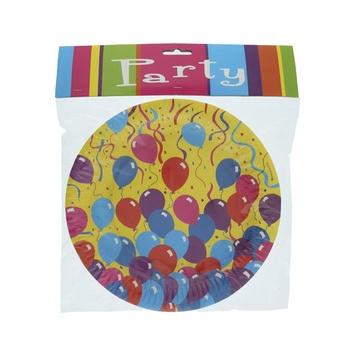 Festive Paper Plate - 6pcs pack