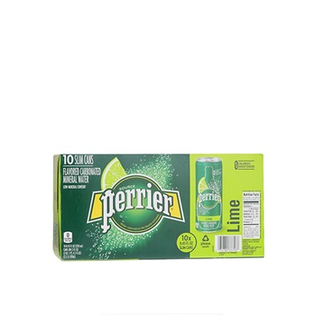 Perrier Sparkling Water Lime 10x250ml