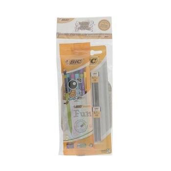 Bic Mechanical Pencil + Lead + Eraser 2 Pcs