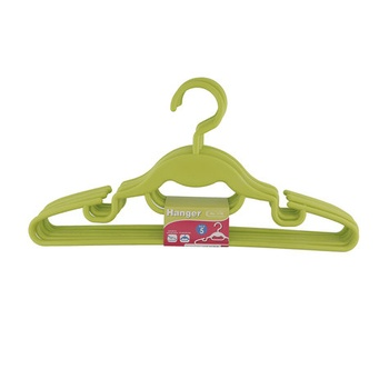 JCJ Plastic Hanger 5 Pc Set  # 1178