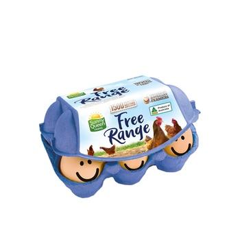 Sunny Queen Free Range Eggs 6 Eggs(300g)