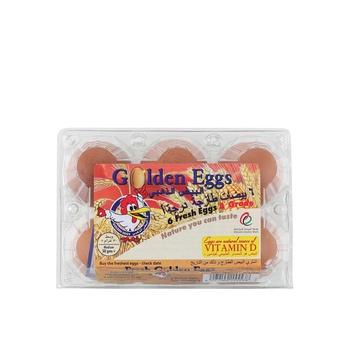 Al Jazira Eggs Box Brown 6s
