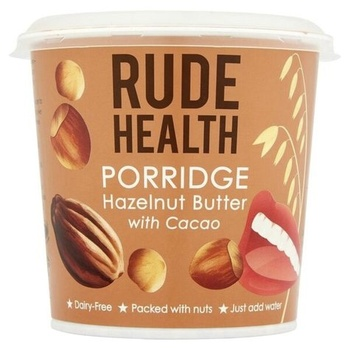 Rude Health Porridge Pot - Hazelnut & Cacao 50g