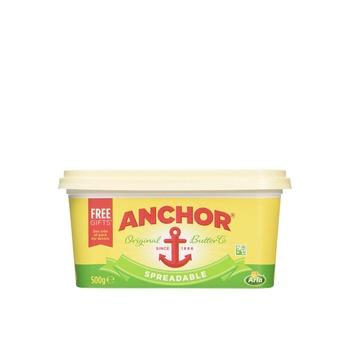 Anchor Spreadable Butter 500g