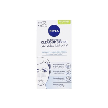 Nivea Refining Clear-up Strips 6pcs