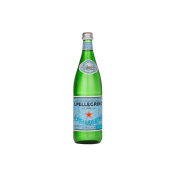 S.Pellegrino Sparkling Natural Mineral Water Glass Bottle 750ml
