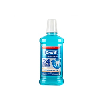 Oral B Pro Expert Strong Teeth Mint Mouthwash 500 ml