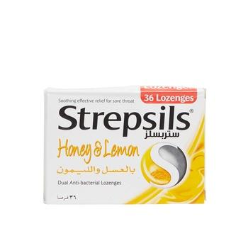 Strepsils Honey & Lemon  36s