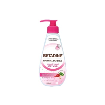 Betadine Body Wash Pomegrante 500ml