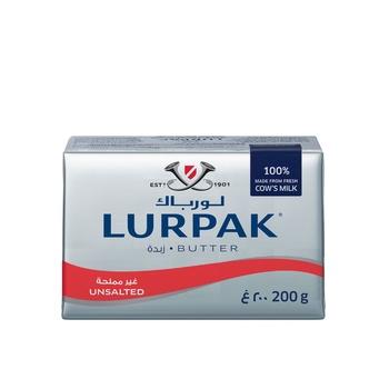 Lurpak Danish Unsalted Butter 200g