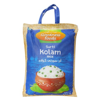 Goodness Foods Surati Kolam Rice 4.54kg